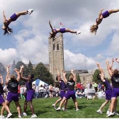 REPIN if you love basket tosses too! For tons of stunting tips, check out CheerleadingInfoCenter.com.