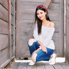 See this Instagram photo by @victoriajustice • ❤️ #happy4th #ootd