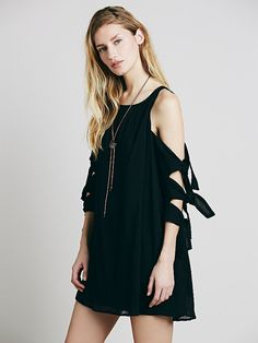 Free People White Dove Dress at Free People Clothing Boutique