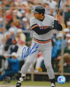 "Darrell Evans - Detroit Tigers - 8"" X 10"" MLB Baseball Pictures & Autographs - MLB Autograph"