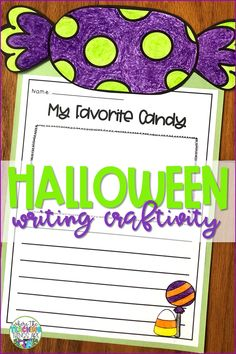 Get your students excited about writing with this adorable fall writing craftivity! This resource also includes narrative, opinion, and informative writing prompts, templates, and graphic organizers. For grades K-2.