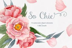 So Chic By Watercolor Nomads