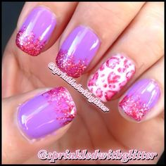 Purple/Pink. LOVE IT.