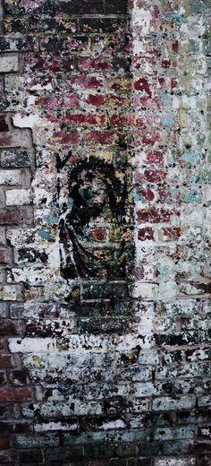 Jesus - Street Art Street Art Love, Amazing Street Art, Amazing Art, Street Mural, Street Art Graffiti, Banksy, Mural Art, Wall Art, Art Articles