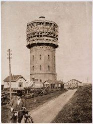 Assendelft, the village I was born (Dec. 1st, 1969) and raised. I moved to Weesp in september 1988. The Watertower - west of Westzaan