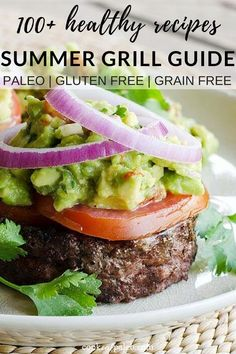 Over 100 easy grilling recipes! Quick and healthy recipes for grilled chicken, v. Healthy Grilling Recipes, Grilled Steak Recipes, Healthy Summer Recipes, Clean Eating Recipes, Beef Recipes, Healthy Snacks, Quick Recipes, Grill Recipes, Healthy Eating