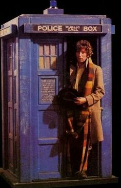 The Doctor arrives to take me on the TARDIS. My bags have been packed for 40 years :)