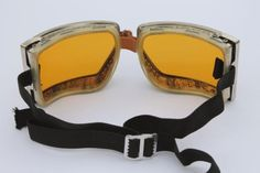 vintage Cesco amber goggles in original box - steampunk workshop, motorcycle / aviator safety glasses Momo Yaoyorozu, Shouta Aizawa, Connie Springer, Accel World, Doom Patrol, Young Avengers, A Silent Voice, Character Aesthetic, Death Note