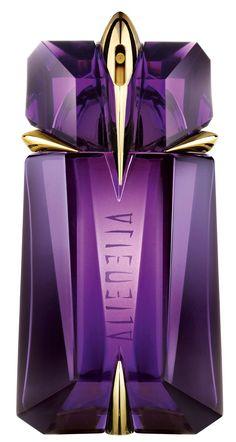 thierry mugler alien  best perfume  good bottle design