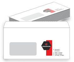 Hochwertiger Druck und günstiger Preis bei onlineprintXXL #kuvert #information #technik #IT #sechseck #envelopes #günstig Templates