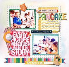 Searchwords: Pancake Breakfast *Scraptastic*