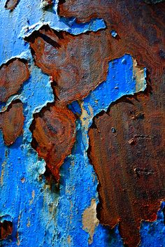 Blue and Rust by dcclark on Flickr