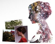 Double exposure portraits: a simple tutorial for making surrealist images. Image and text by James Paterson. http://www.digitalcameraworld.com/2014/04/18/double-exposure-portraits-a-simple-tutorial-for-making-surrealist-images/