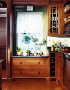 Kitchen window - traditional - Kitchen - New York - Susan Serra Kitchen Corner, Kitchen Window Sill, Kitchen Window, Home, New Kitchen, Kitchen Redo, Kitchen Cabinet Layout, Kitchen Layout, Kitchen Renovation