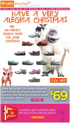 Have a Very Alegria #Christmas! | Alegria Shoe Shop