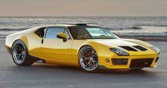 The Pantera is a certified '70s classic that combines Italian Flair With American Muscle - Info