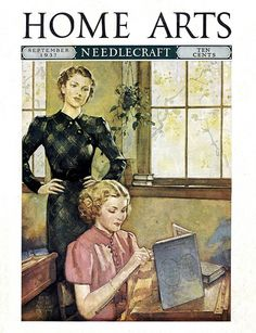 1937 - Home Arts Magazine by clotho98, via Flickr