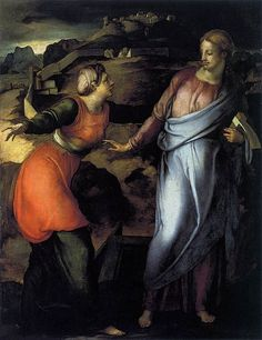 Jacopo Pontormo - Noli Me Tangere