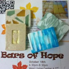 "Program Ideas: Purchase a soap making kit and let residents make their own soap bars during the cold and flu season (And ""HOPEfully"" they don't get ill!). Resident Assistant, Resident Advisor, RA ~"