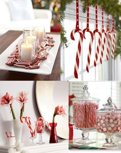 @Kaitlyn Watson Johnson Did you ever hang candy canes on your tree? I never even thought about around the house! Think of all the snacking :P