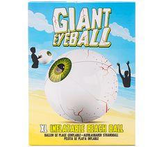 GIANT INFLATABLE EYEBALL BEACHBALL