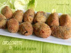 Le Crocchette di Melanzane sono una ricetta velocissima