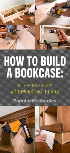 How to Build a Bookcase: Step-by-Step Woodworking Plans  - PopularMechanics.com