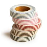 Fabric tape. I can't help but buy it every time I'm at Paper Source, but I haven't found a great use for it yet. Boo!