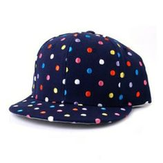 $7.40 Cute Dot Print Decorated Baseball Hat For Women