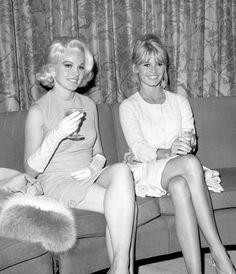 Carol Baker & Brigitte Bardot