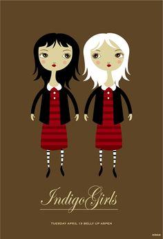GigPosters.com - Indigo Girls