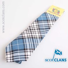 Napier Tartan Tie. Free worldwide shipping available