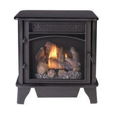 Enjoy a traditional look with the ProCom Black Gas Stove. This stove offers plenty of warmth with real flickering flames and uses liquid propane as fuel and can be adapted easily for a natural Black Gas Stove, Zero Clearance Fireplace, Best Space Heater, Oak Mantel, Free Gas, Ceramic Fiber, Pellet Stove, Electric Stove, Gas Fireplace