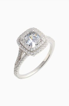 online shopping for Lafonn Double Halo Simulated Diamond Ring from top store. See new offer for Lafonn Double Halo Simulated Diamond Ring Tacori Engagement Rings, Pear Cut Engagement Rings, Diamond Wedding Rings, Sapphire Jewelry, Blue Sapphire Rings, Small Earrings, Crystal Earrings, Simulated Diamond Rings, Heart Jewelry