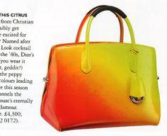 Christian Dior Citrus bag