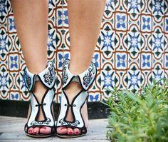 Wonderful shoes SOPHIA WEBSTER