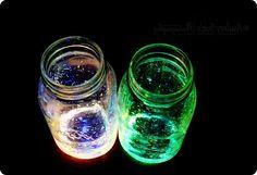 DIY Glossy Jar