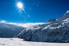 Paysages montagneux en région maurienne