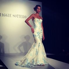 We have Hudson at our store Marry & Tux in Nashua! #Maggie Sottero wedding dress