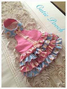 Candy Rumba lolita dog dress by Cutie Pooch designer dancing queen pet clothing xs s m l xl xxl available
