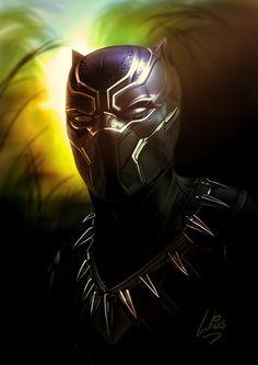 "westcoastavengers: "" Black Panther | Richard Willis """
