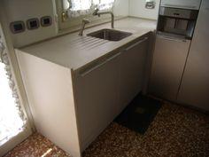 top cucina bulthaup in granito nero assoluto fiammato e spazzolato ... - Top Piano Cucina