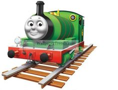 PERCY No. 6 GREEN ENGINE Thomas Tank and Friends Train Wall Decal Sticker Decor in Toys & Hobbies, TV, Movie & Character Toys, Thomas the Tank Engine   eBay