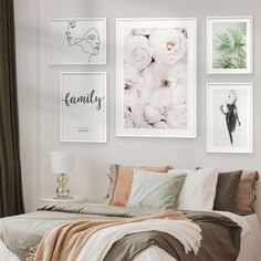 Peonies, single-line drawings and quotes Framed Posters. Great inspiration for a bedroom wall #romantic #bedroom #artprints #posters #walldecor #wallart #poster #frames #interior #inspiration Gallery Wall Bedroom, Bedroom Art, Poster Frames, Posters, Inspirational Wall Art, Interior Inspiration, Peonies, Wall Decor, Romantic