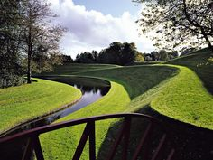 Garden of Cosmic Speculation by Charles Jencks in Scotland