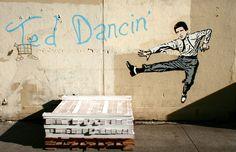 Hanksy. Ted Dancin'.