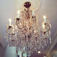Chandelier from a Capitol Hill home ... Perfection