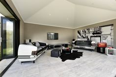 Ever considered a man cave? Available to view at the Salt display home by Webb and Brown-Neaves.