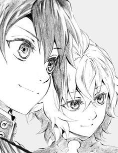 Mikaela and Yuichiro Hyakuya