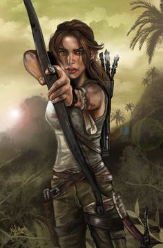 Tomb Raider Lara Croft #adventure #woman #game #character #archaeologist